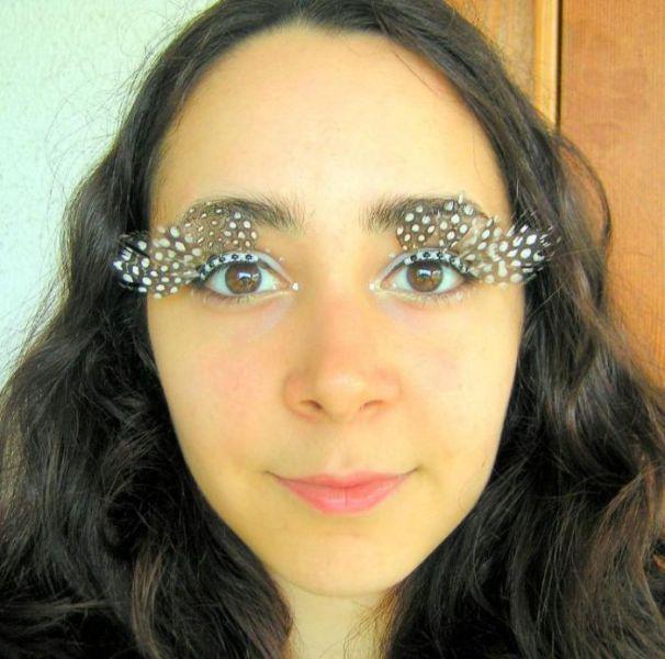 Creative Eyelash Designs