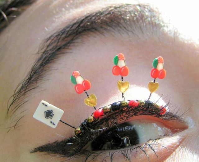 Creative Eyelash Designs