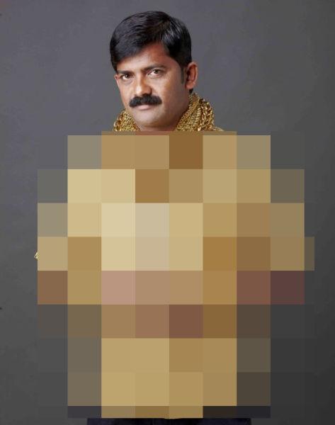 Wealthy Man Wears Golden Shirt to Get the Ladies