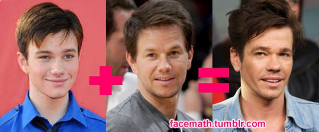 Famous Faces Come Together With Facemath. Part 2