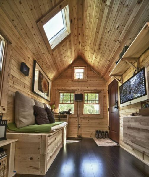 From City Life to Tiny Cottage on Wheels