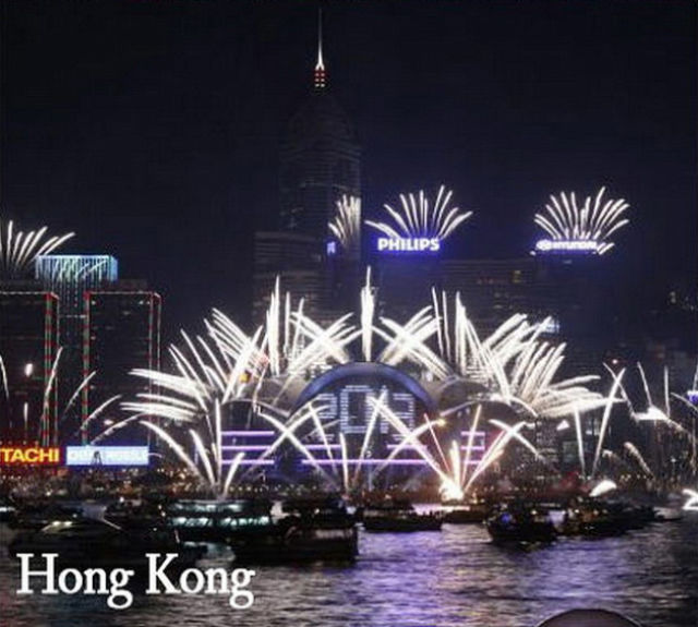 New Year Celebrations from Over the World