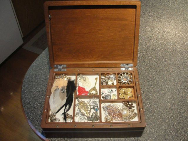 Special Jewelry Box With Secret Compartment