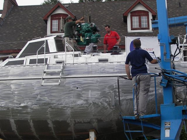Couple Take 14 Years To Build Boat by Themselves