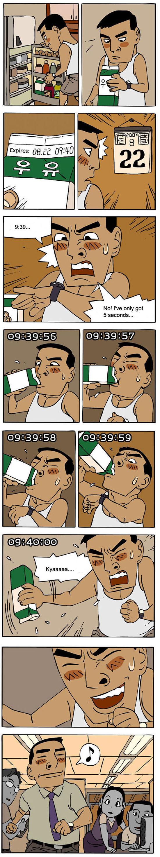 Funny Korean Comic Strips  Part 2 (14 pics) - Izismile com