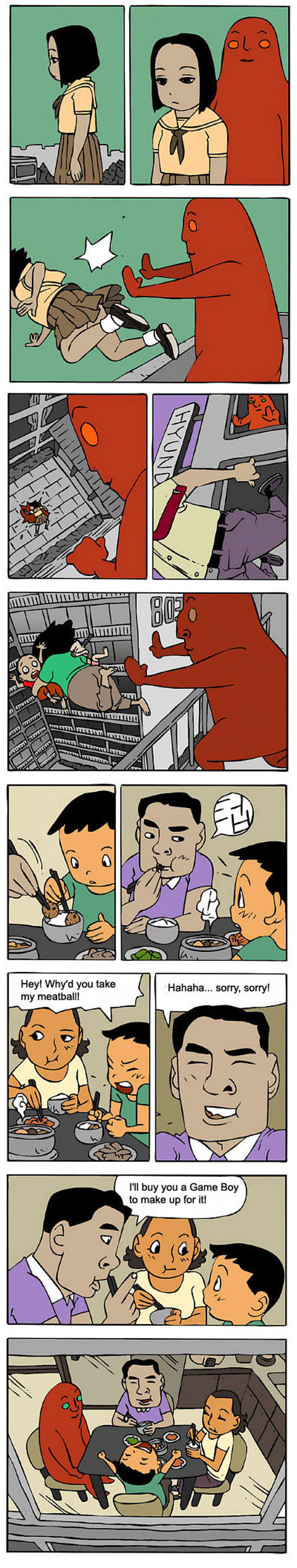 Funny Korean Comic Strips. Part 2