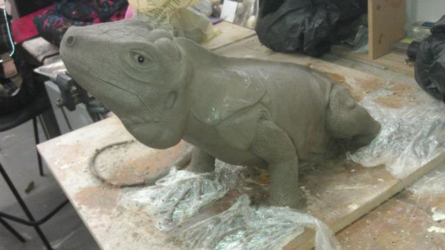 This Homemade Green Iguana Looks So Real