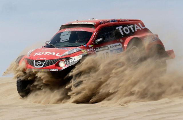 Dakar 2013, Desert Pics
