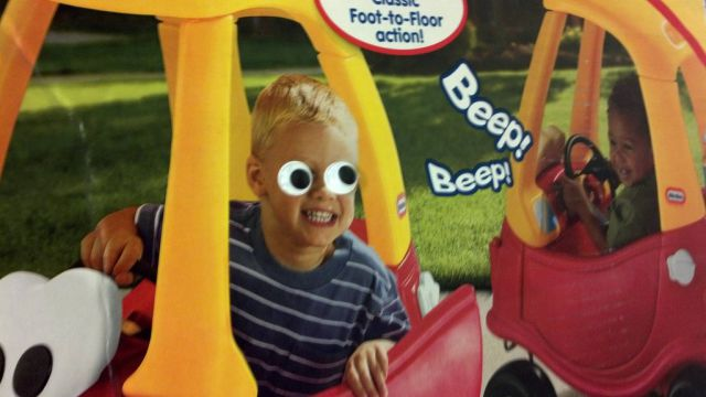 Fun with Googly Eyes in Target