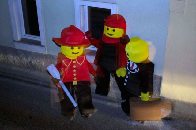 Fantastic Homemade Lego Men Costumes