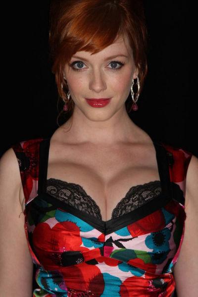 Gorgeous Photos of the Red-headed Bombshell, Christina Hendricks