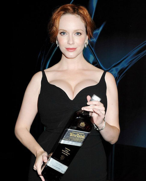 Gorgeous Photos of the Red-headed Bombshell, Christina Hendricks