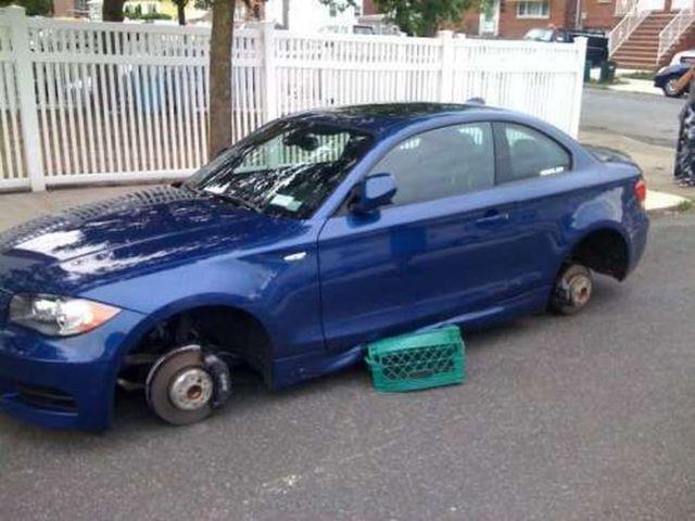 I Swear It Had Wheels When I Left It