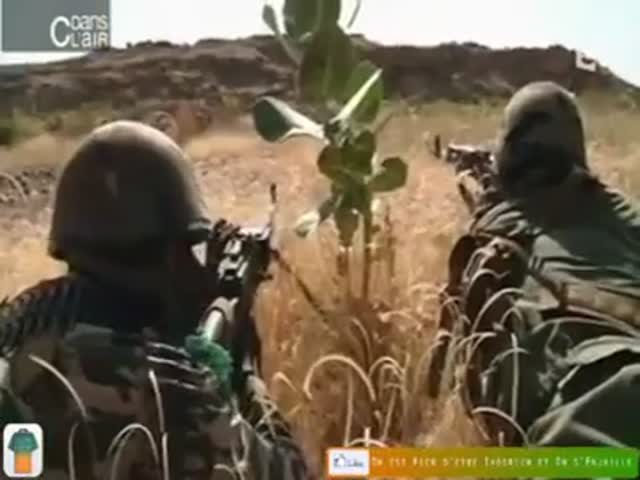 Malian Soldiers Ran Out of Ammo, They Had to Improvise…