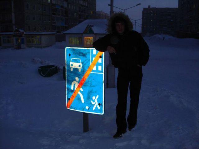 A White World in Russia