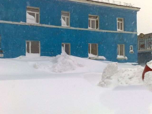 A White World in Russia