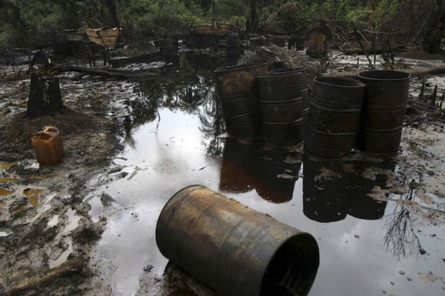 Illegal Oil Theft in Nigeria