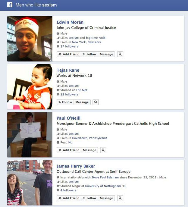 "New Facebook Graph Search Produces ""Awkward"" Results"