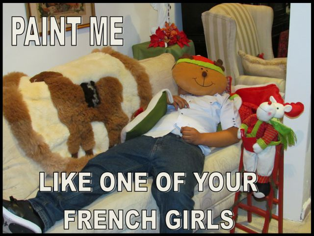 paint me like one of your french girls