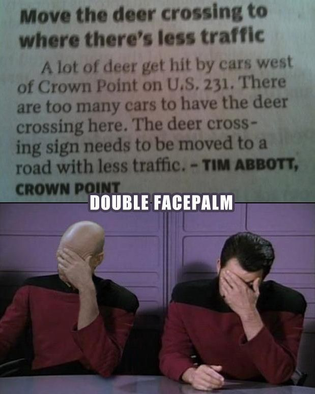 Ready Your Hands for a Facepalm Marathon. Part 2