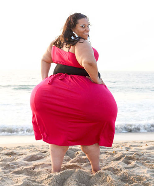 Women Has World's Widest Hips