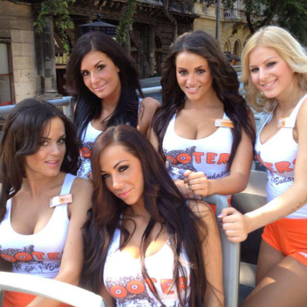 "You Don't Have to be ""Hungary"" to Visit Hooters Budapest"