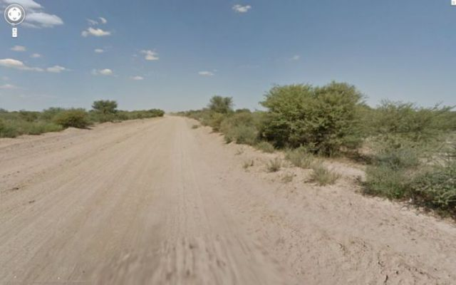 "Google Street View Captures Donkey ""Accident"""