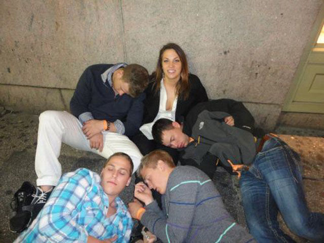 Hilarious Drunk and Wasted People. Part 9
