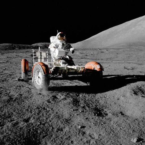 Historical Photos of the Great Apollo Moon Missions