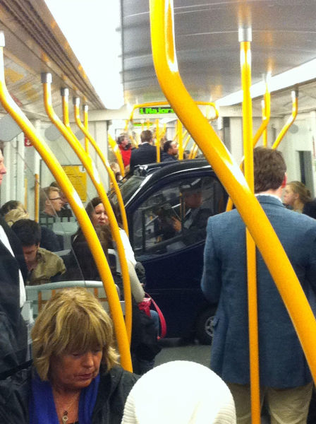 Public Transport Is Not for the Faint-hearted