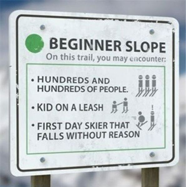 Know Your Ski Slope Skill Levels