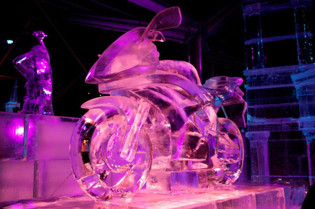 Magical and Masterful Ice Sculptures