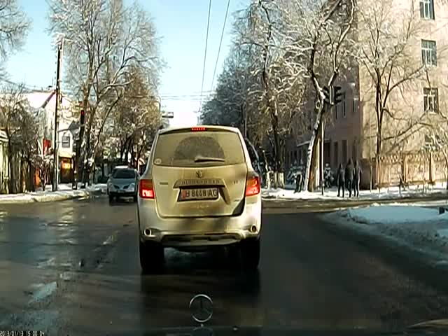 How to Make a U-Turn like a Russian