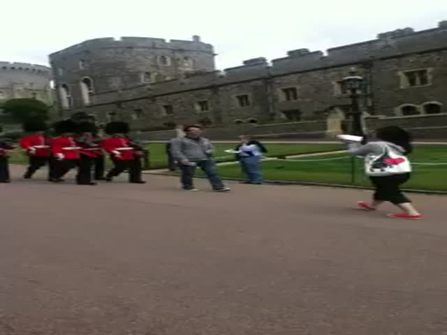 One Does Not F**k with the Queen's Castle Guard