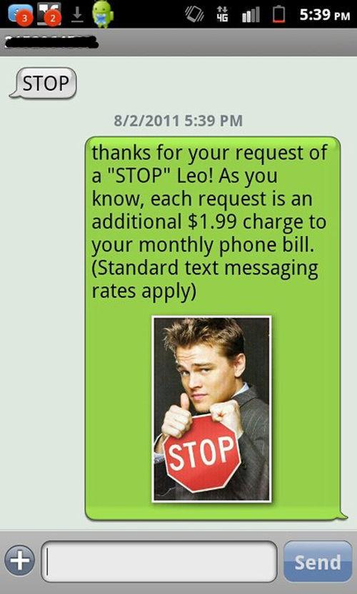 Hilarious DiCaprio Phone Prank
