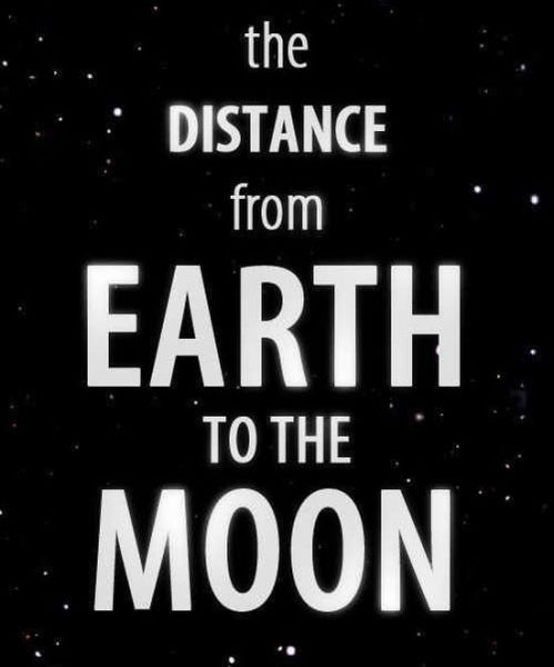 How Far Away is the Moon?