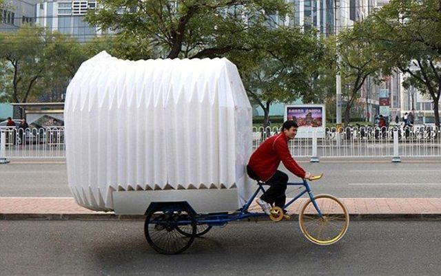 Innovative Chinese Bike House