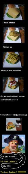 """cooking sponge bob """"Crabmeat Burger"""""""