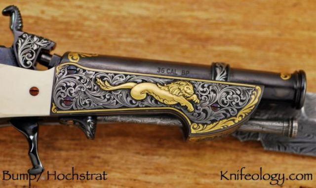 "The Ornate ""Cut and Shoot"" Knife"