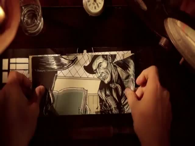 What an Awesomely Creative Way of Animating a Story