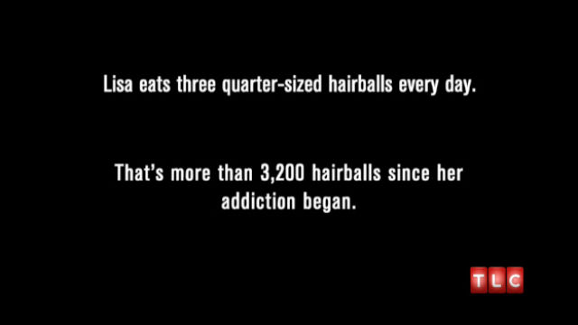 A Woman with a Completely Revolting Addiction