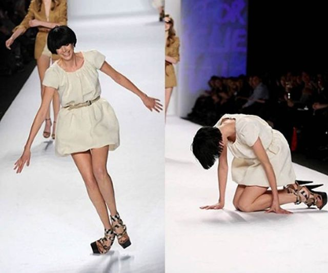 Famous People Fall Too