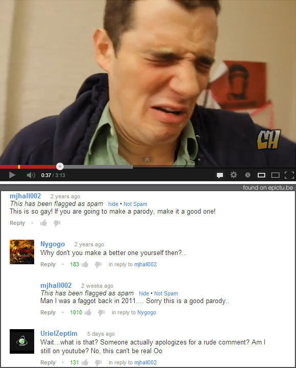 Really Funny YouTube Comments. Part 5