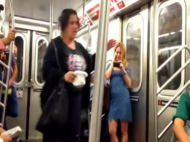 Panhandler Party – NYC Subway Style