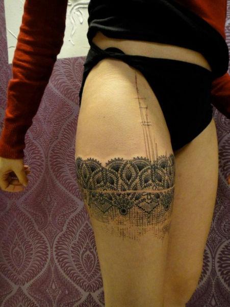 "Phenomenally Artistic ""Photoshop Style"" Tattoos"