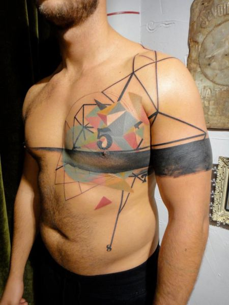 "Phenomenally Artistic ""Photoshop Style"" Tattoos"