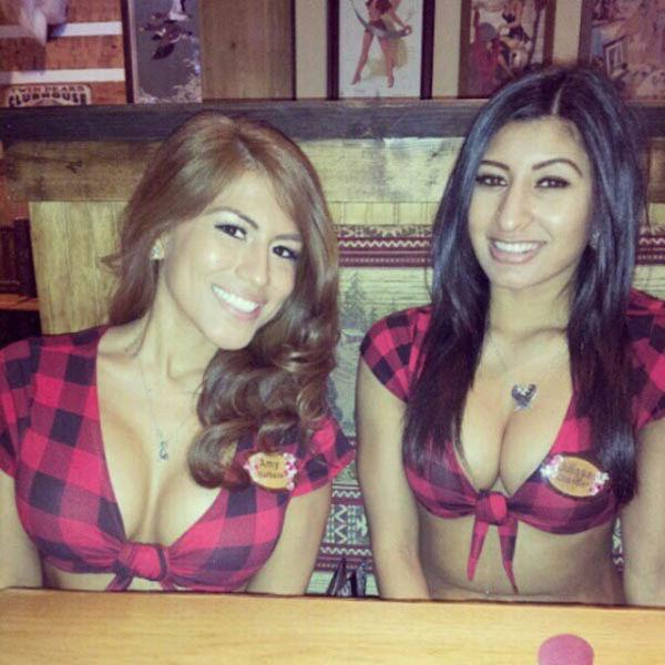 The Busty Waitrons of Twin Peaks Restaurants