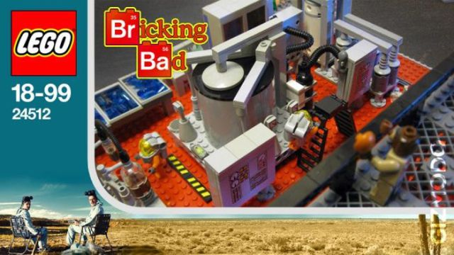 "The Set of ""Breaking Bad"" in Lego"