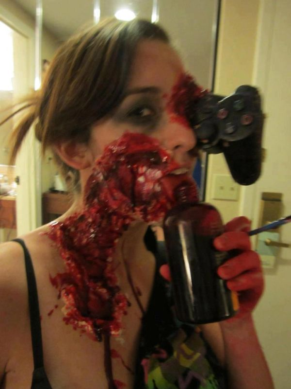 Gamer Girl Gets Gruesome Zombie Makeover