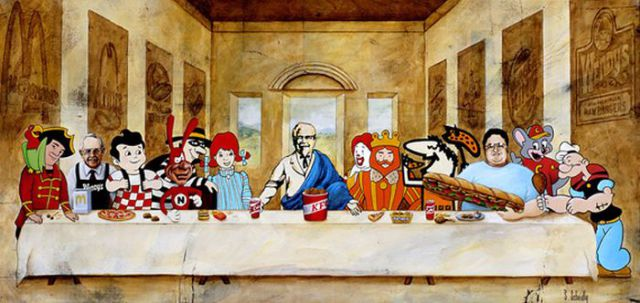 pop culture spoofs of �the last supper� 48 pics 6 gifs